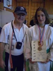 3. Platz für Lina bei Landesmeisterschaft