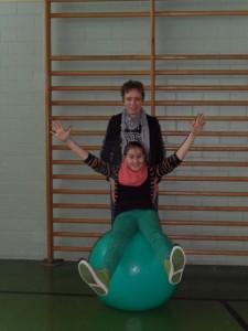 Chiara Fink und Ute Wellnitz