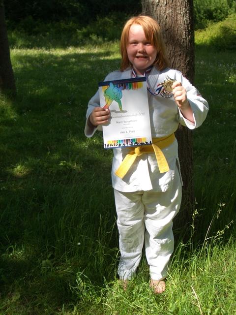 Judo-Landesmeistertitel für Marit Schallhorn