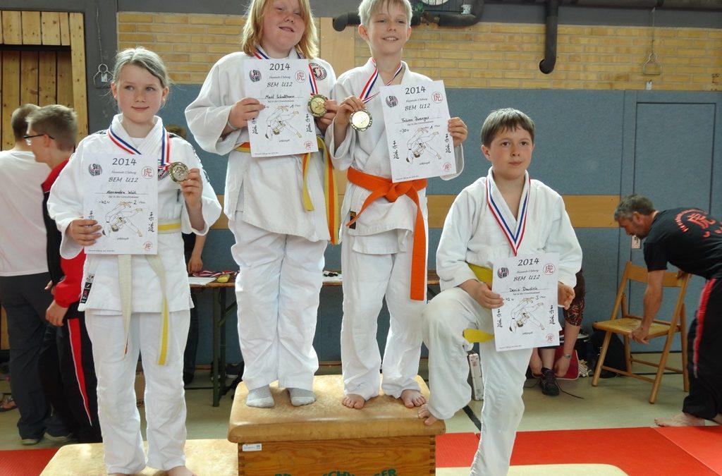 Zwei Bezirksmeistertitel für Lindener Judoka