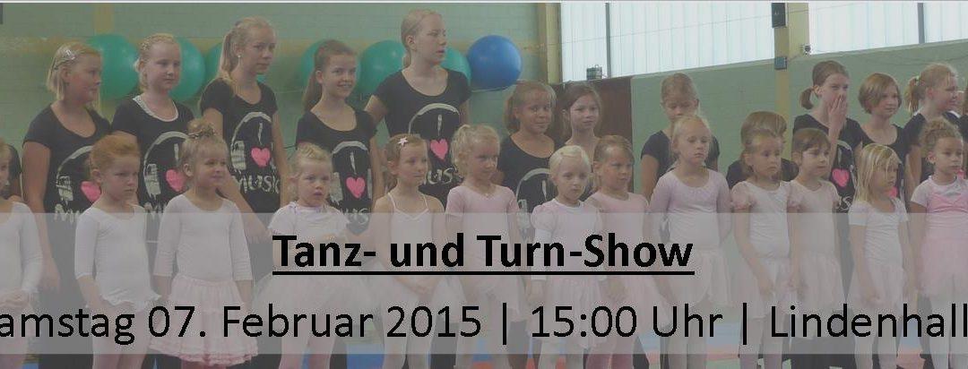 Tanz- und Turn-Show 2015 – Ankündigung