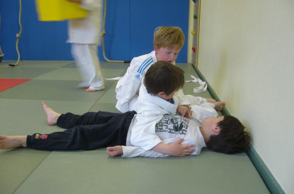 Judotrainer zu Gast in Tellingstedter Grundschule