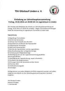 Einladung TSV JHV 161