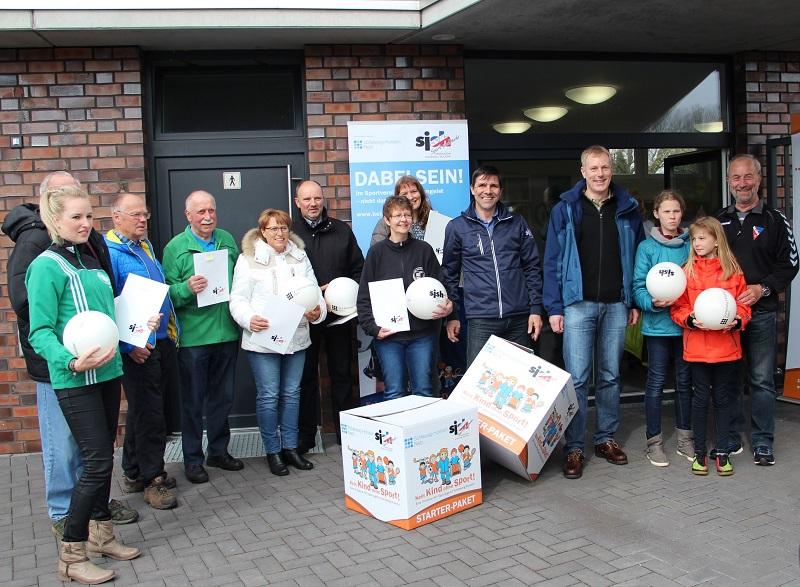 TSV Linden von Sportjugend und Schleswig-Holstein Netz AG ausgezeichnet
