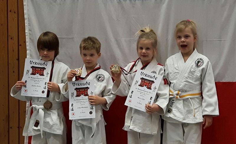Judoka holen Bronze