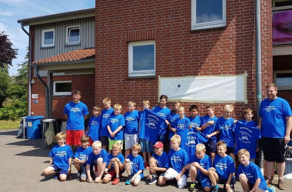 E-Jugend der SG Hennstedt Linden holt die Doppelmeisterschaft