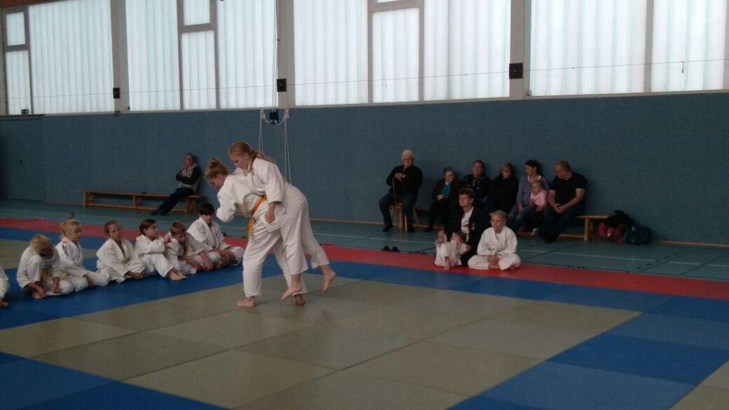 Vereinsmeisterschaft der Judosparte