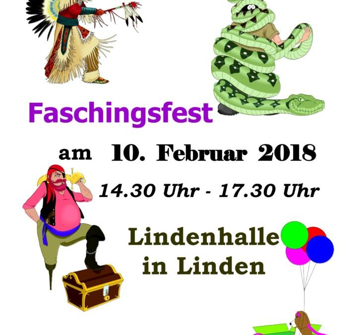 Faschingsfest am 10.02.2018