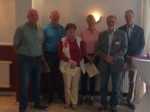 Dörte Junge-Urbahns erhält Verdienstnadel des KSV Dithmarschen