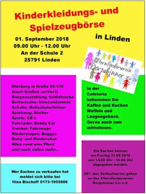 Kinderkleidungs- und Spielzeugbörse in Linden