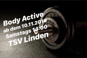 Body-Active ab 10. November auch samstags