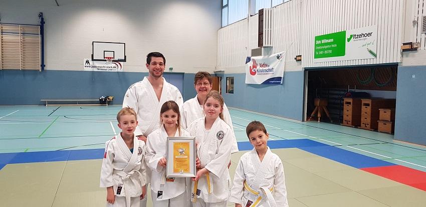 Judosparte ausgezeichnet
