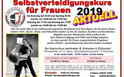 Selbstverteidigungskurs für Frauen – ab 4. Mai in Linden