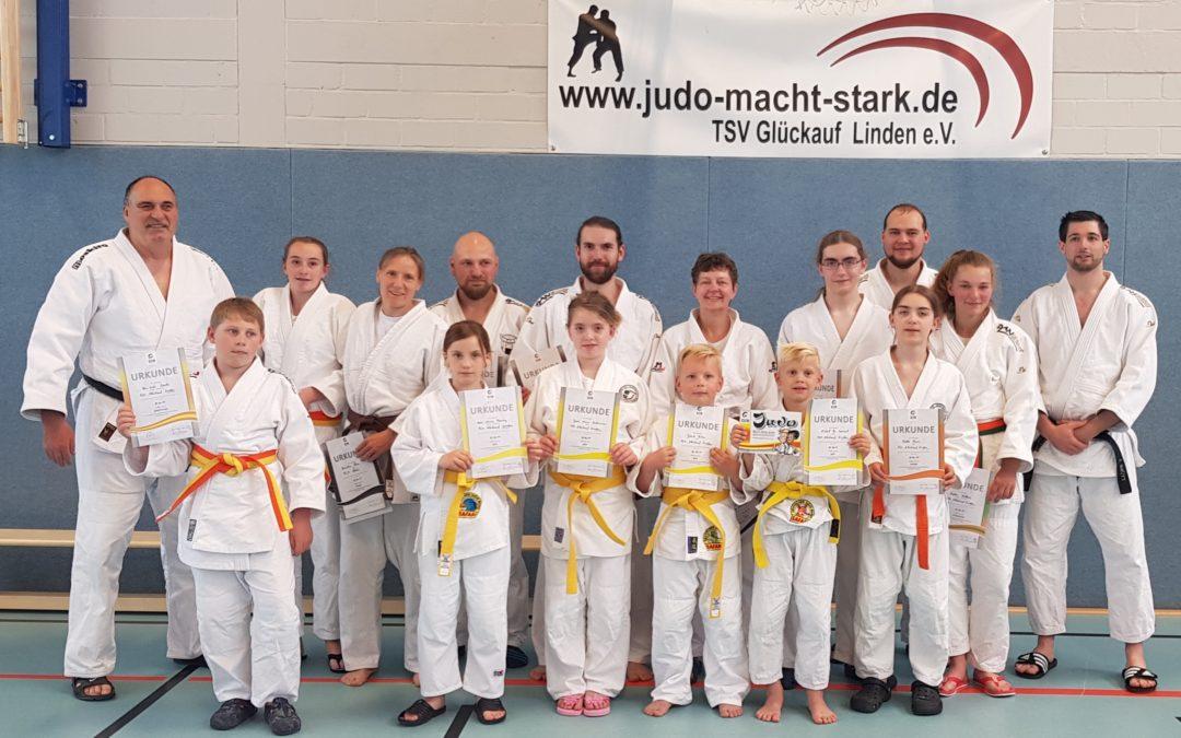 Erfolgreiches Wochenende für Judosparte
