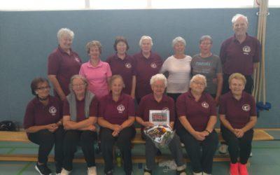 Elisabeth Suhl – mit 90 Jahren ältestes Mitglied der Senioren-Sportgruppe