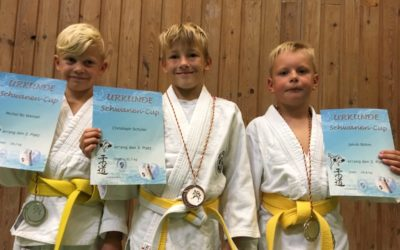 Judoka beim Schwanen-Cup erfolgreich