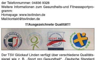 Aktuelle Gesundheits- und Fitnessportangebote